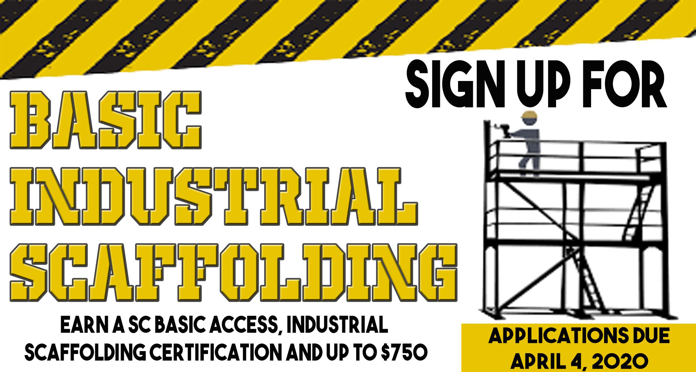 Basic Industrial Scaffolding