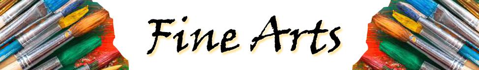 Fine Arts Banner