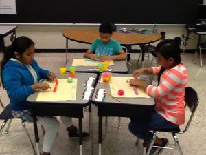 Place Value with play-doh