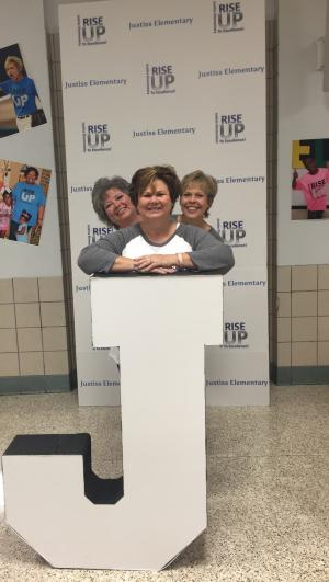 Mrs. Garrett, Mrs. Dockery, Mrs. Turner