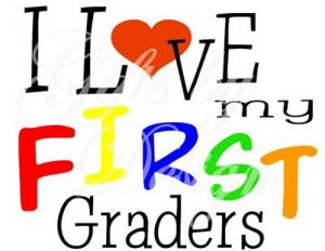 love my 1st graders