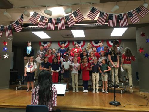 NLE Choir celebrates Veterans' Day