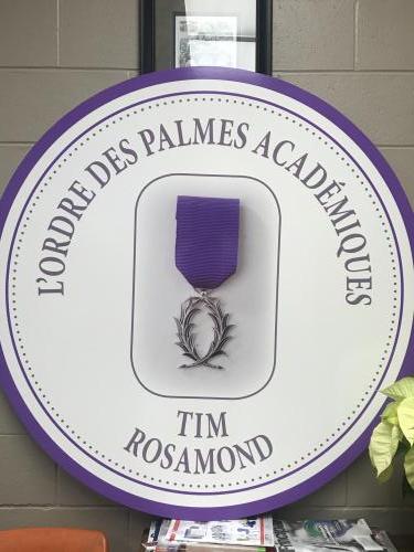 L'Ordre des Palmes Academiques