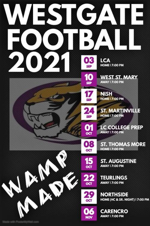 21 Football Schedule