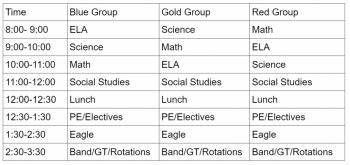 Team 2 Schedule