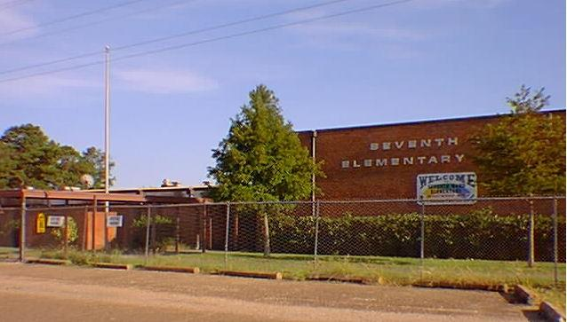 Landscape View facing Seventh Ward Elementary School