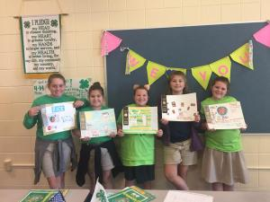 Congratulations to the 4-H members who placed in the Parish Rice Poster Contest: Allie Falgout, Elizabeth Toups, Addyson Broussard, Bailey Hargrave, and Aubrey Broussard