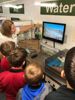 Louisiana Ag Conservation Truck 4th grade