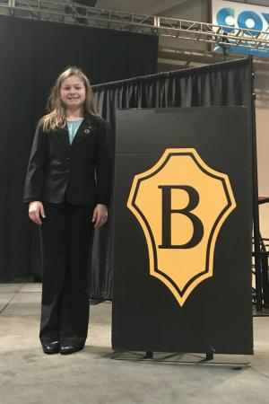 State Louisiana Elementary Jr. Beta President: 5th grade Dozier Elementary student Madeline Zegura was named the first ever Elementary Jr. Beta State President.