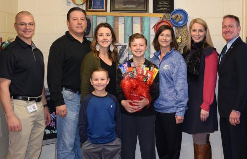 Vermilion Parish Elementary Student of the Year!