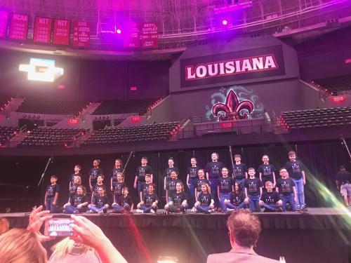 Club at Convention Songfest-2nd place