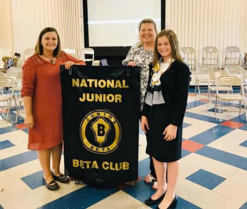 State Jr. Beta President