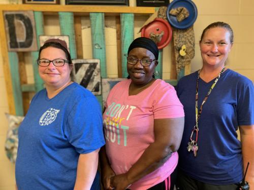 Our wonderful custodians!