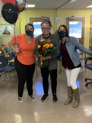 Teacher of the Year Tammy Broussard