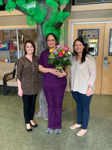 EPE's Support Person of the Year -- Mrs. Cheryl Koch