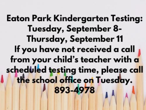 Kindergarten Information