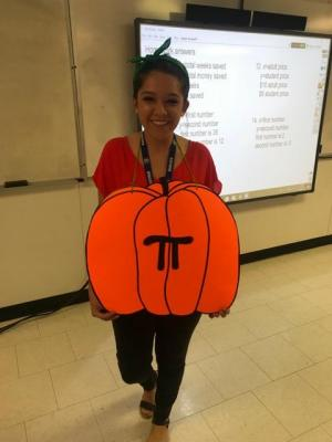 Congratulations to Mrs. Pam Barras and Ms. Monique Menard for winning the teacher costume competition.  They are rewarded with the administrative parking spots until we return from Christmas Break.