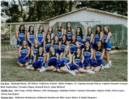 2018-2019 Erath High Cheerleaders