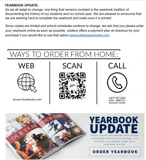 Yearbooks 2019-2020