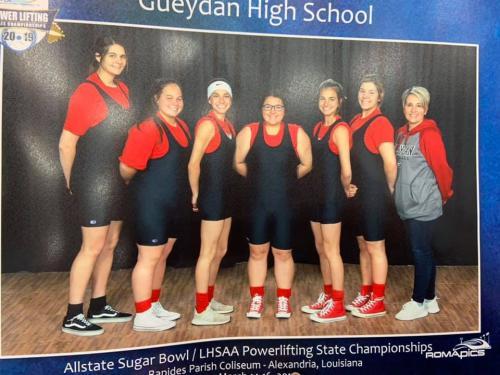 Girls Powerlifting Team