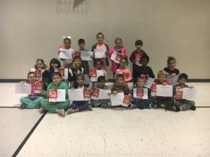 1st nine Weeks AB Honor Roll and Principal List  1st Grade AB Honor Roll Bottom Row: Cecilia Breaux, Sabrie Simmons, Analeah Guidry, Vance Istre, Aiden Reid, Hayden Desormeaux and Alexander Boehm Principal List: Thomas Potier Principal List Middle Row: Ma