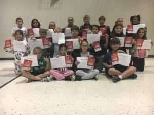 1st nine Weeks AB Honor Roll and Principal List 3rd Grade Principal List Front Row: Gabrielle Braus, Brielle Reese, Molly Levgerne and Charles Thobideaux AB Honor RollSecond Row: Jacklyn Romero, Luke Bertrand, Koen Breaux, Tate Guidry, Darren Guillory, My