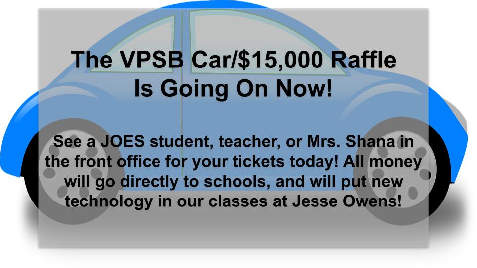 VPSB Car Raffle