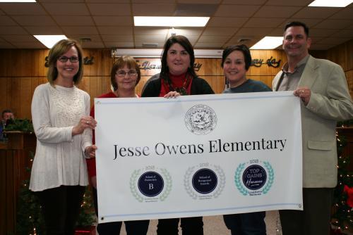 JOES School Banner