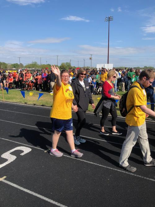 Special Olympics-Lighting the torch