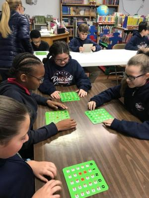 On Thursday, Nov. 15th, Meaux Elem. held its first AR event for the 2018-19 school year. 189 students from grades 1st-5th participated in AR Bingo.