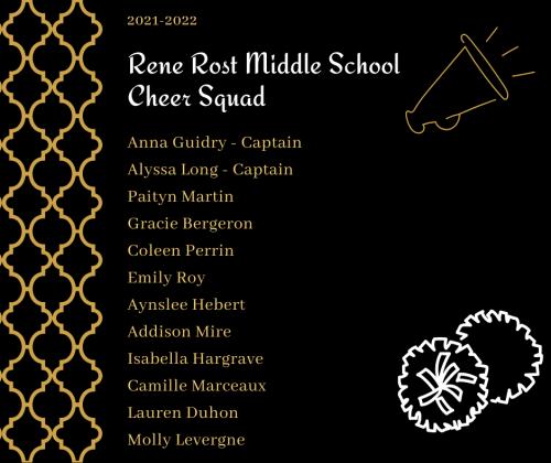 2021-2022 Cheer Squad