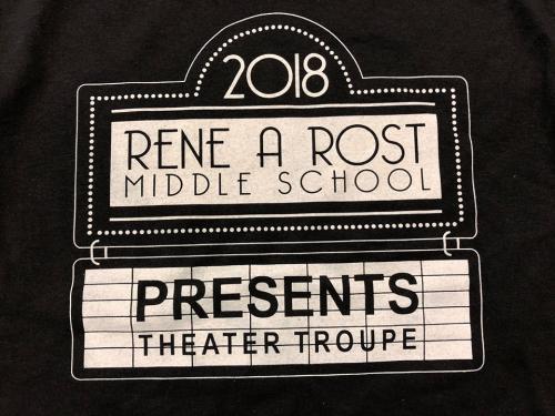 Theater Troupe Shirt 2018