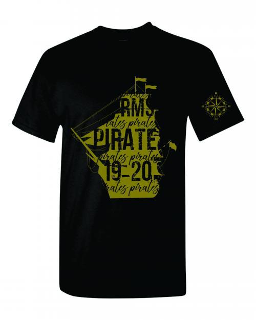 Black Uniform T-Shirt