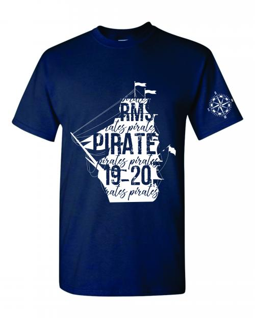 Navy Uniform T-shirt