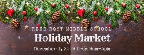 Rene Rost Holiday Market December 1