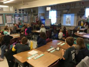 Shout out to Mrs. Judy, from Shiloh, who spoke to us about the history of Native Americans!