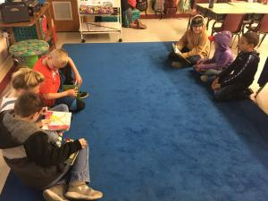 Thank you to Mrs. Tuberville's class for reading with us for Read Across America Day!