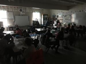 When the power goes out, but you still have to work... We know how to solve our own problems!