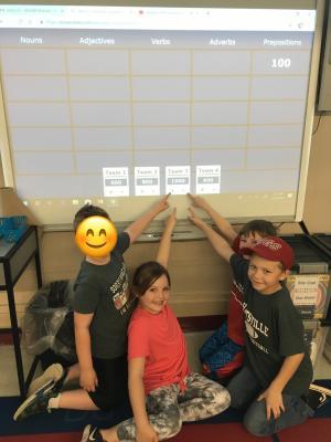 Grammar Jeopardy Winners!