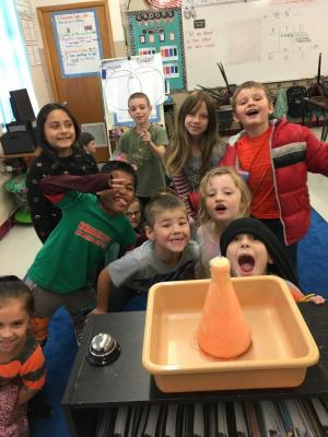Learning about Volcanoes during our Earth Processes Unit!