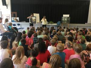Guest Speaker talked about alligators and alligator snapping turtles. She even had pictures!