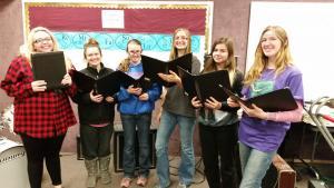 Choir Girls Singing