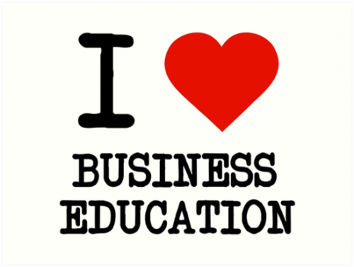 I love business education picture