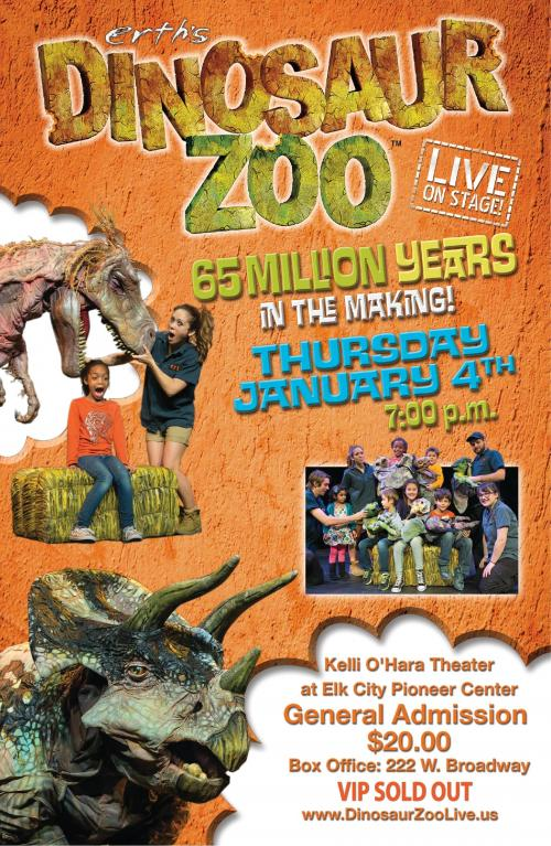 Dinosaur Zoo Poster