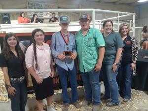 3rd place cattle grading team Connors State College