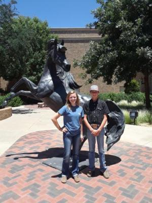 Texas Tech university meat judging camp Brylie Owen Corbin Clark