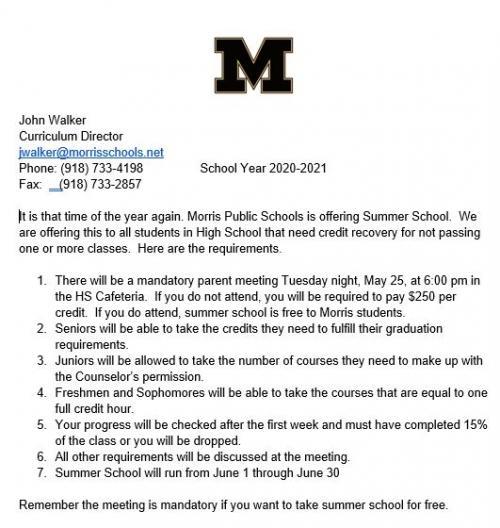 Summer School 21