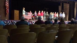 Veterans Day Assembly 4th grade