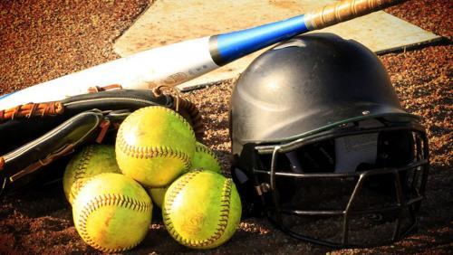 Softball Equipment, Balls, Bat, Mitt