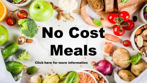 No Cost Meals